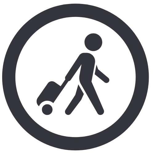 Airbnb travel icon